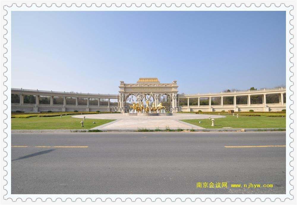 滁州冠景泊悅酒店大門