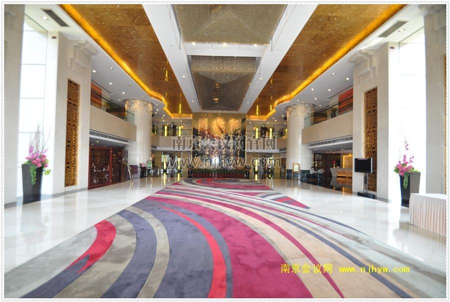 钟山宾馆大厅
