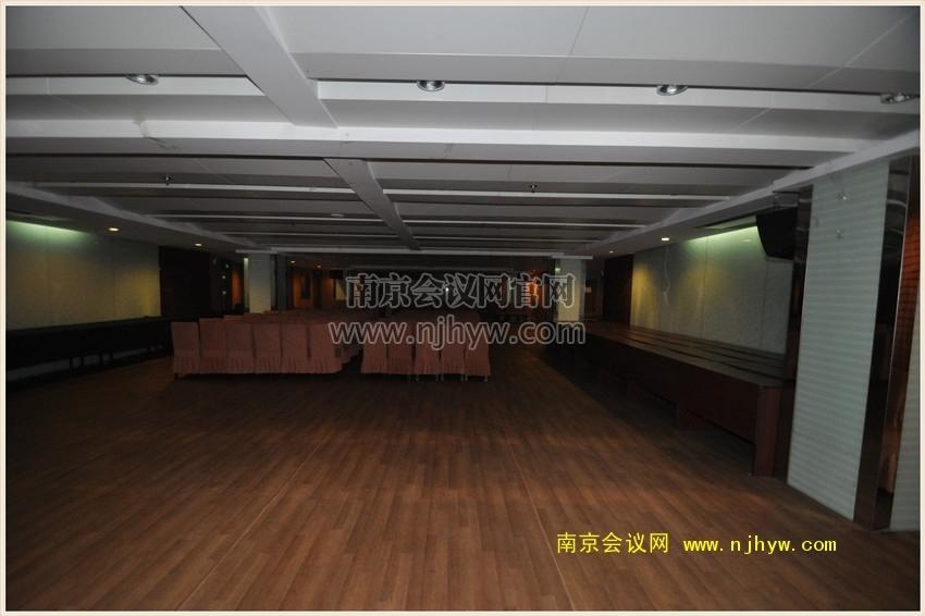 银茂宾馆负一楼会议室