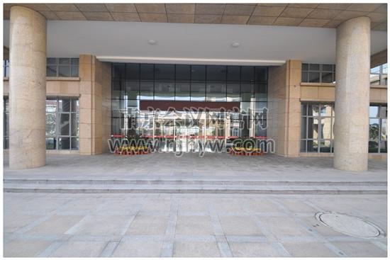 會議中心大門