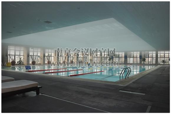 室内温泉游泳池