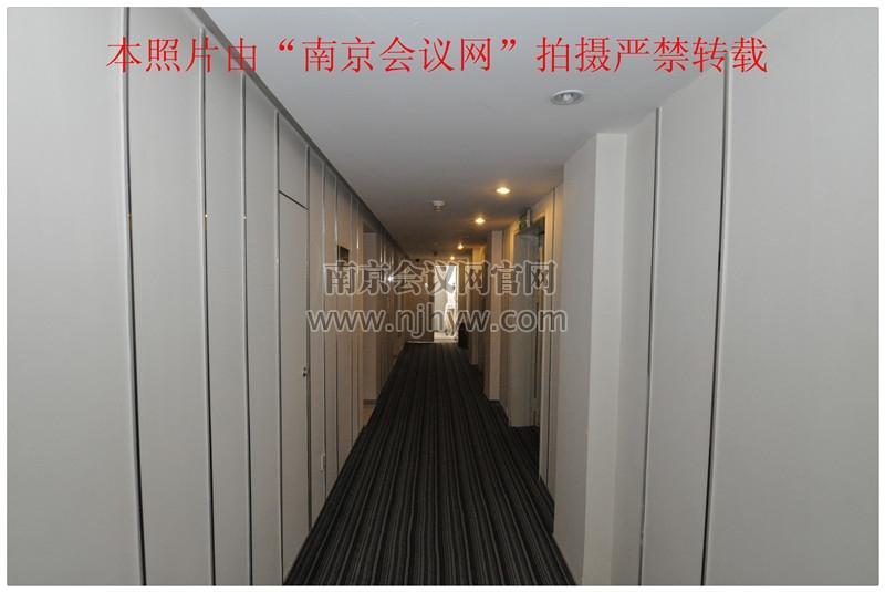 豪华楼层走廊