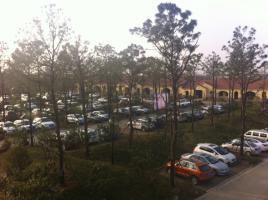 温泉停车场